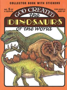 God Created the Dinosaurs of the World