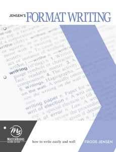 Jensen's Format Writing (Download)