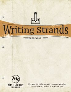 Writing Strands: Beginning 1 (Download)