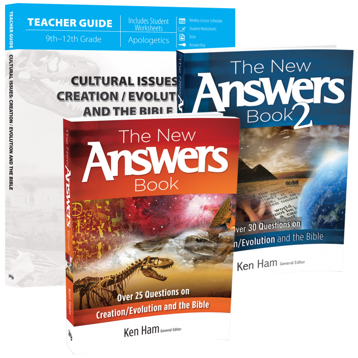 Cultural Issues: Creation/Evolution and the Bible (Curriculum Pack)