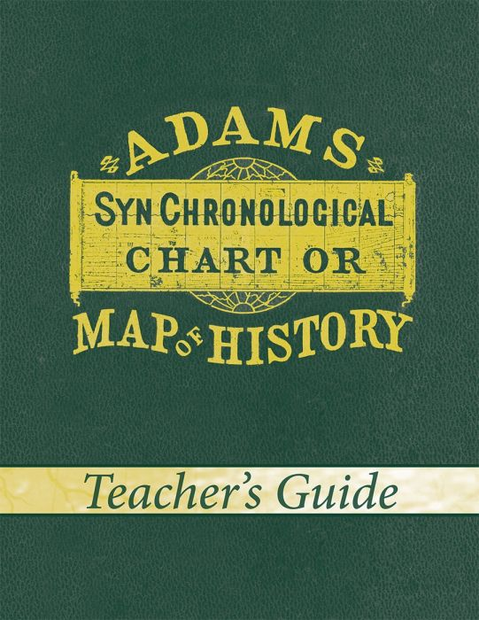 Adams' Chart of History (Teacher's Guide - Download)