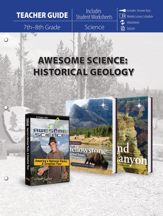 Awesome Science: Historical Geology (Teacher Guide - Download)