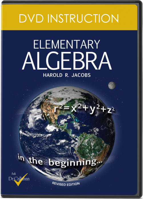 Elementary Algebra (DVD Instruction)