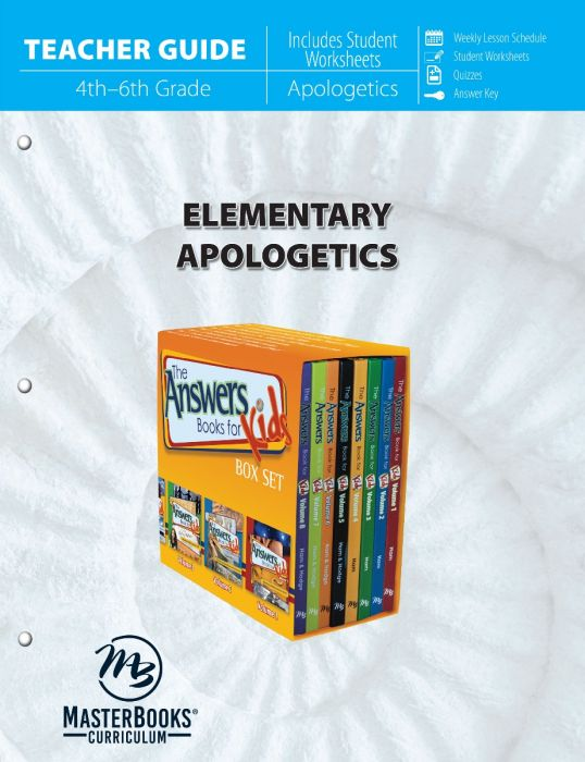 Elementary Apologetics (Teacher Guide - Download)