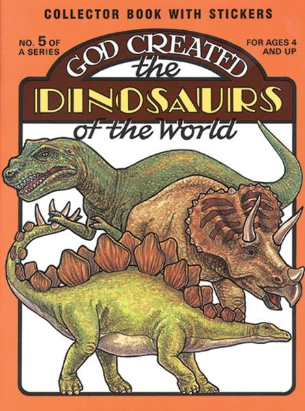 God Created the Dinosaurs of the World (Download)