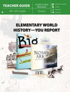 Elementary World History - You Report! (Teacher Guide)