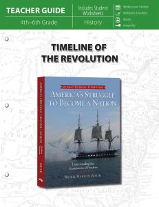 Timeline of the Revolution (Teacher Guide - Download)