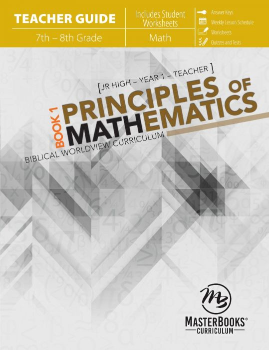 Principles of Mathematics Book 1 (Teacher Guide - Download)