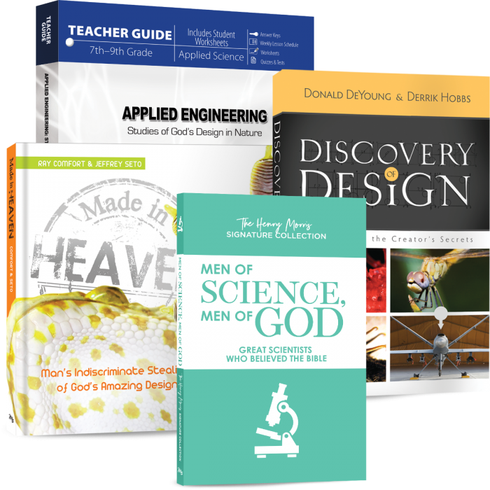Applied Engineering: Studies of God's Design in Nature (Curriculum Pack)