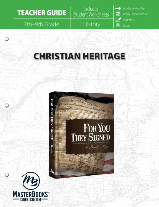 Christian Heritage (Teacher Guide - Download)
