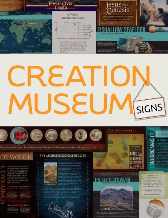 Creation Museum Signs (Download)
