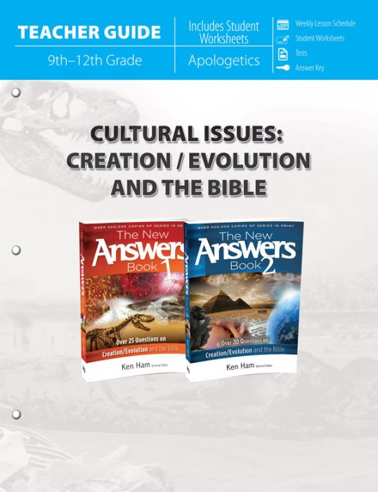 Cultural Issues: Creation/Evolution and the Bible (Teacher Guide - Download)