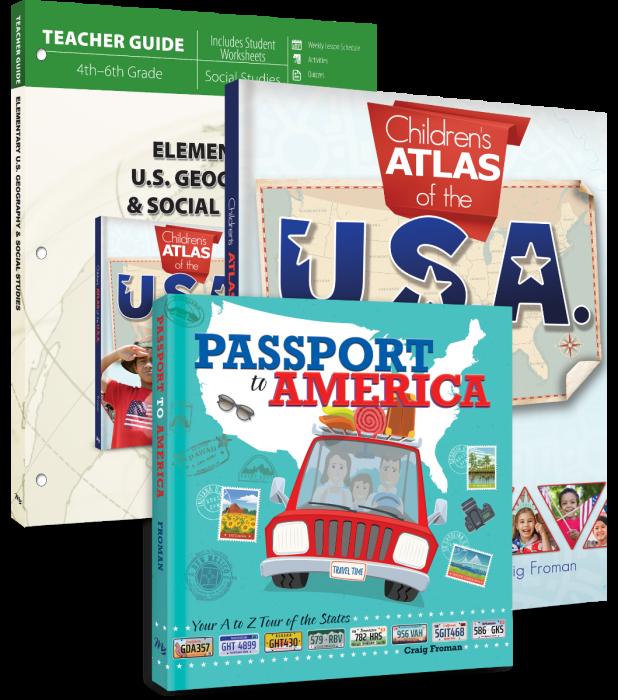 Elementary U.S. Geography & Social Studies (Curriculum Pack)