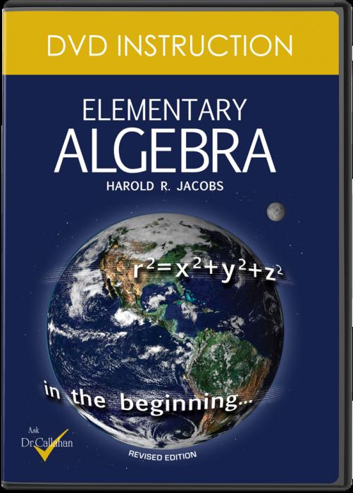 Elementary Algebra (DVD Instruction)