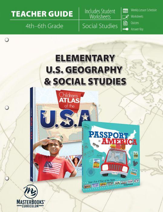 Elementary U.S. Geography & Social Studies (Teacher Guide - Download)
