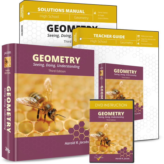 Geometry (Curriculum Pack w/DVD)