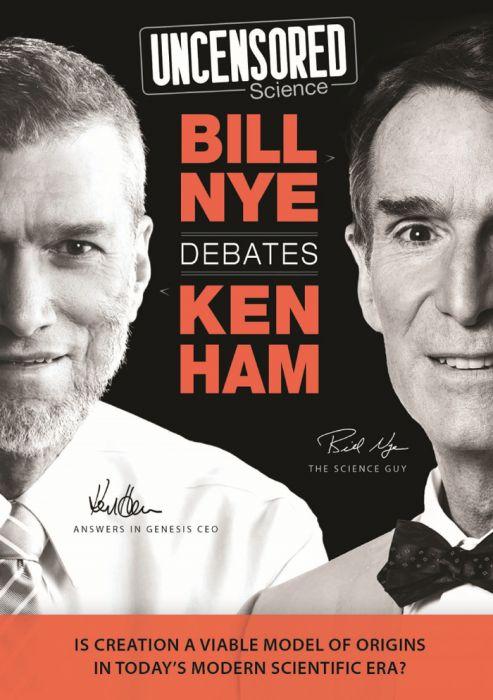 Uncensored Science: Bill Nye Debates Ken Ham DVD