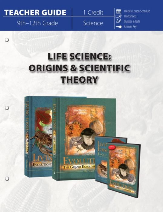 Life Science: Origins & Scientific Theory (Teacher Guide - Download)