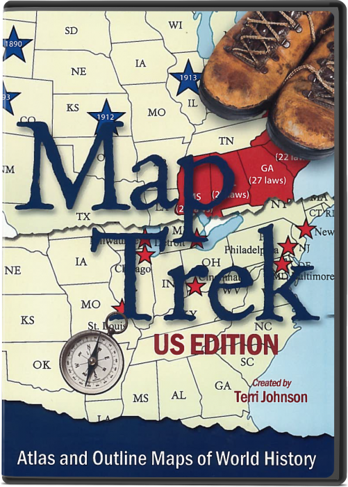 Map Trek: US Edition (CD)