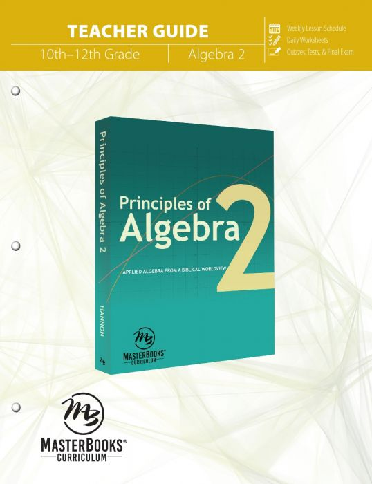 Principles of Algebra 2 (Teacher Guide - Download)