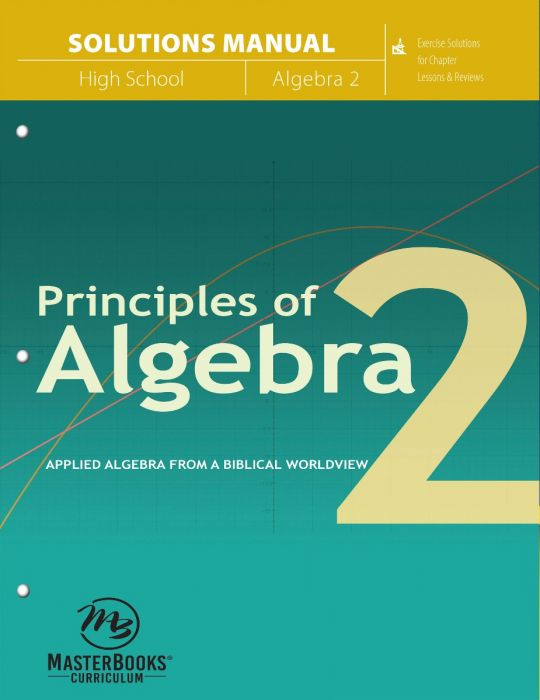 Principles of Algebra 2 (Solutions Manual)