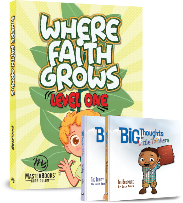 Where Faith Grows: Level 1 (Curriculum Pack)