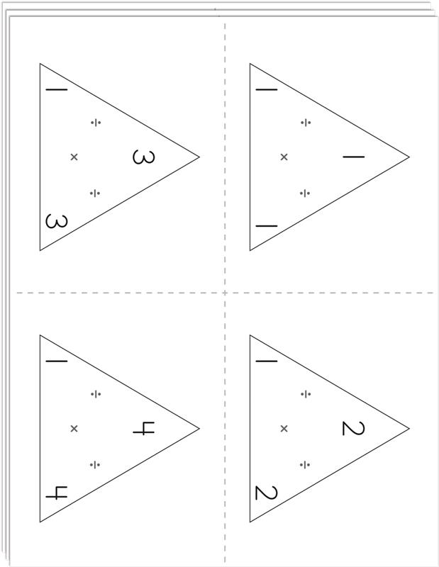 Right Brain Multiplication and Division Flashcards