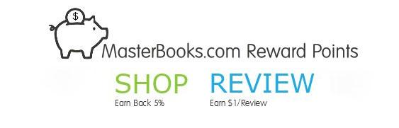 MasterBooks.com Reward Points